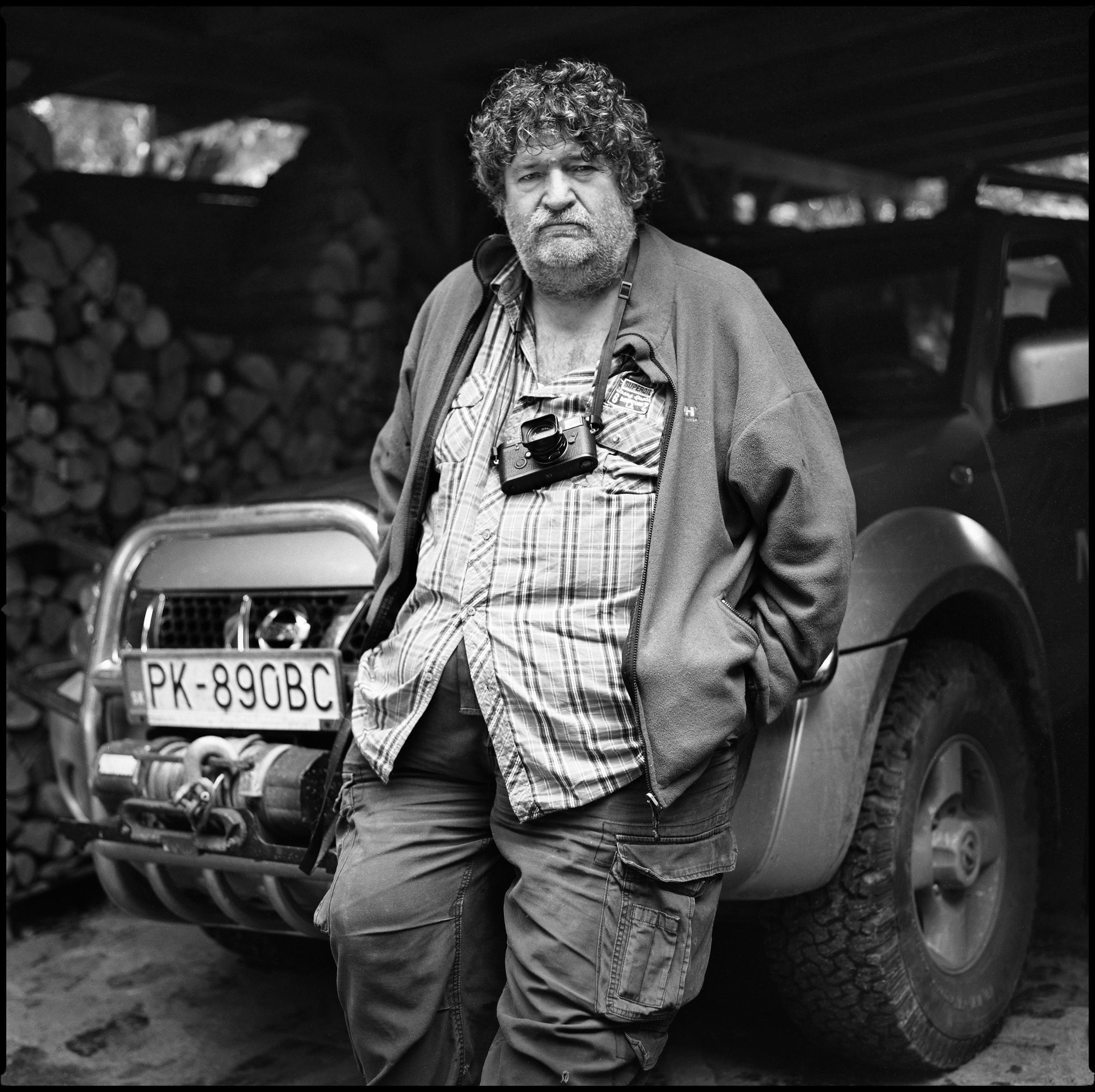Tibor Huszár -  fotograf, zo série 100 Ludí a ich miest