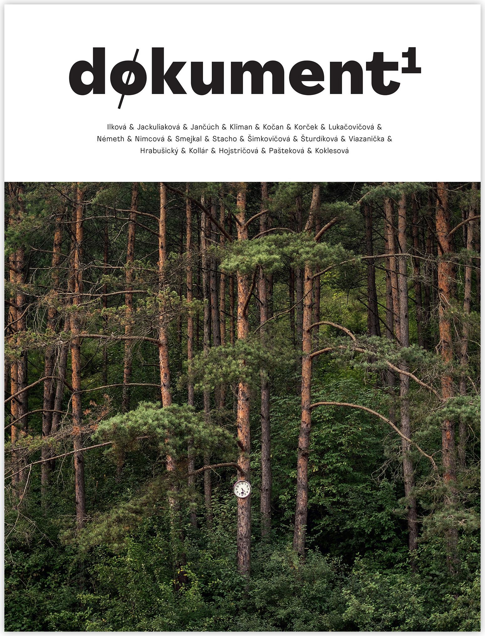Obálka knihy Døkument1, 2019